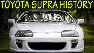 ★Toyota Supra History : Everything YOU need to know! ★