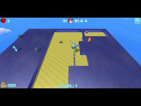 Nova Xonix 3D (by VixaGame) - Arcade Game For Android - Gameplay.