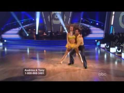 Audrina Patridge and Tony Dovolani Dancing with the Stars - Cha  Cha Cha