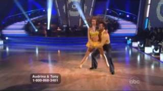Audrina Patridge and Tony Dovolani Dancing with the Stars - Cha  Cha Cha