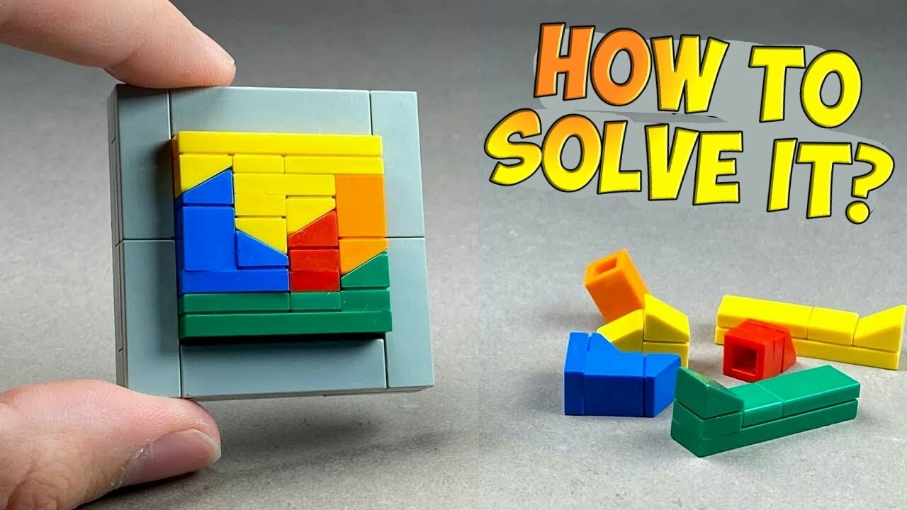 How to make a Lego Puzzle Box / Easy Tutorial