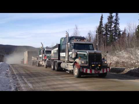Transport Chainé Inc. Heavy Haulage - Push Pull Route 389