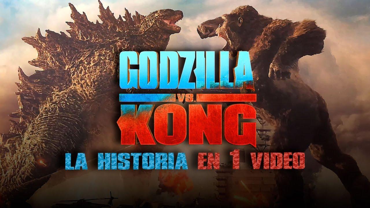 Godzilla Vs Kong : La Historia en 1 Video