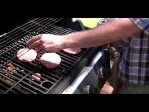 The Rookie Cook Grilling Burgers cooking video