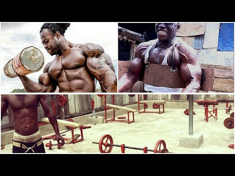 """CRAZY! AFRICAN Fitness """"Blood, Sweat and Pain EVERYDAY!"""""""