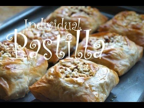 البسطيلة المغربية بالدجاج بشكل جديد  Moroccan Chicken BASTILLA MOROCCAN CUISINE  - Fatemahisokay