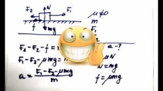Физика. Динамика. Прямолинейное движение тел под действием сил.Часть 2