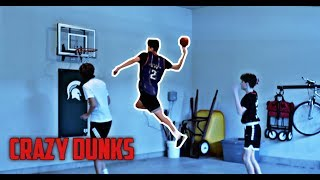 CRAZY MINI BASKETBALL GAME*INSANE DUNK* | NEA
