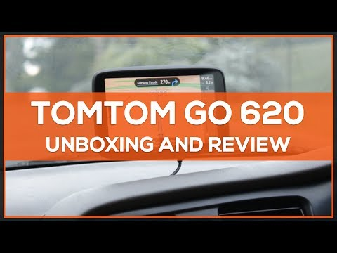 TomTom GO 620 - Unboxing & Review - YouTube