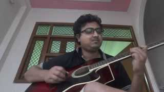 Do Lafzon Ki Hai Dil Ki Kahaani Guitar Cover