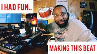 i had fun with this beat (making a boom bap hip hop beat)