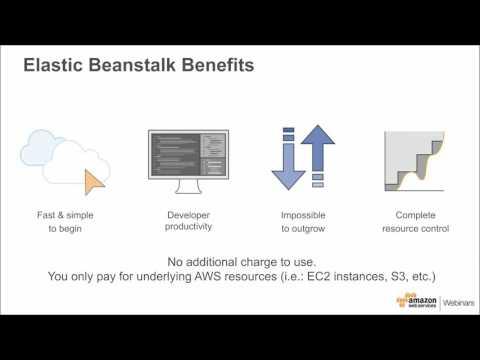 Running Microservices and Docker on AWS Elastic Beanstalk - August 2016 Monthly Webinar Series