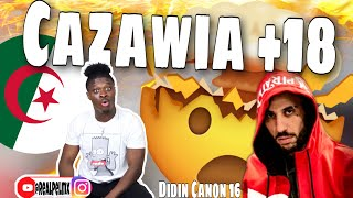 First Time Reacting To Algeria🇩🇿Music Didin Canon 16 Cazawia +18 (Official Video)🔥🔥🔥 *REACTION*