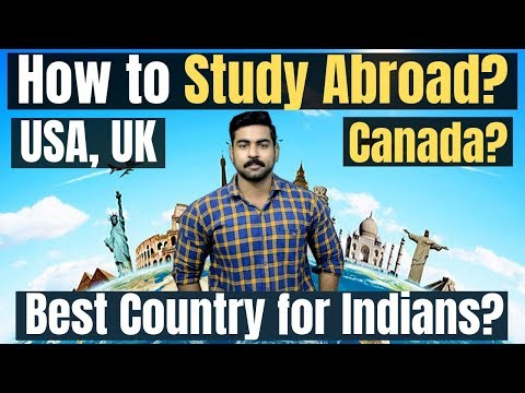 How to Study Abroad | Top International Courses in Demand | USA | UK | Canada | Free Education