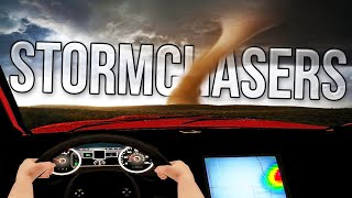 Driving Into The Center Of A Major Tornado - Stormchasing Simulator - Stormchasers Gameplay