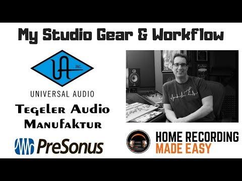 My Home Studio Gear   www.HomeRecordingStudio.com
