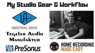 My Home Studio Gear | www.HomeRecordingStudio.com