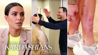 Kim Kardashian Consults The Medical Medium For Help With Her Out-of-Control Psoriasis | KUWTK | E!