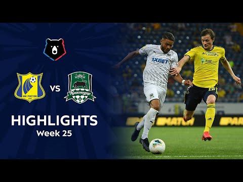 Rostov Krasnodar FK Goals And Highlights
