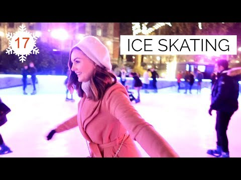 ICE SKATING AT THE MUSEUM | Vlogmas #17