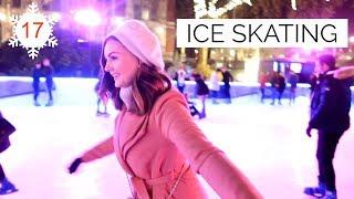 ICE SKATING AT THE MUSEUM | Vlogmas #17