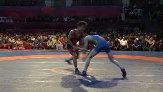Спорт. Греко-римская борьба. Чемпионат Кыргызстана-2018. Часть 2