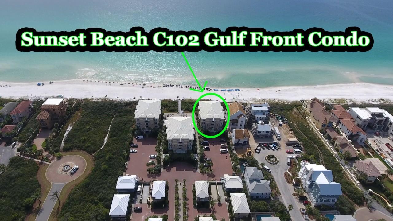 30a Florida Seacrest Sunset Beach C102 Gulf Front Condo Virtual Tour