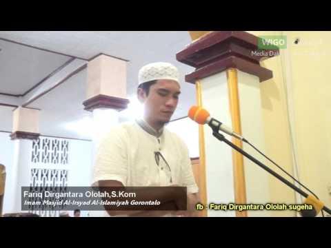MasyaAllah Suaranya Merdu  - Imam Masjid Al-Irsyad Al-Islamiyah Gorontalo