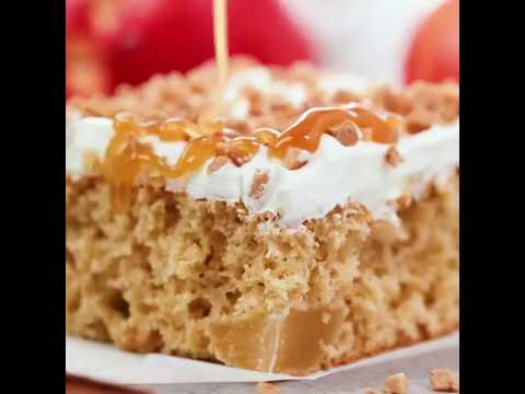 Caramel Toffee Apple Cake By The Recipe Critic