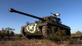 M18 Hellcat Tank Firing Test   TRIGGERS