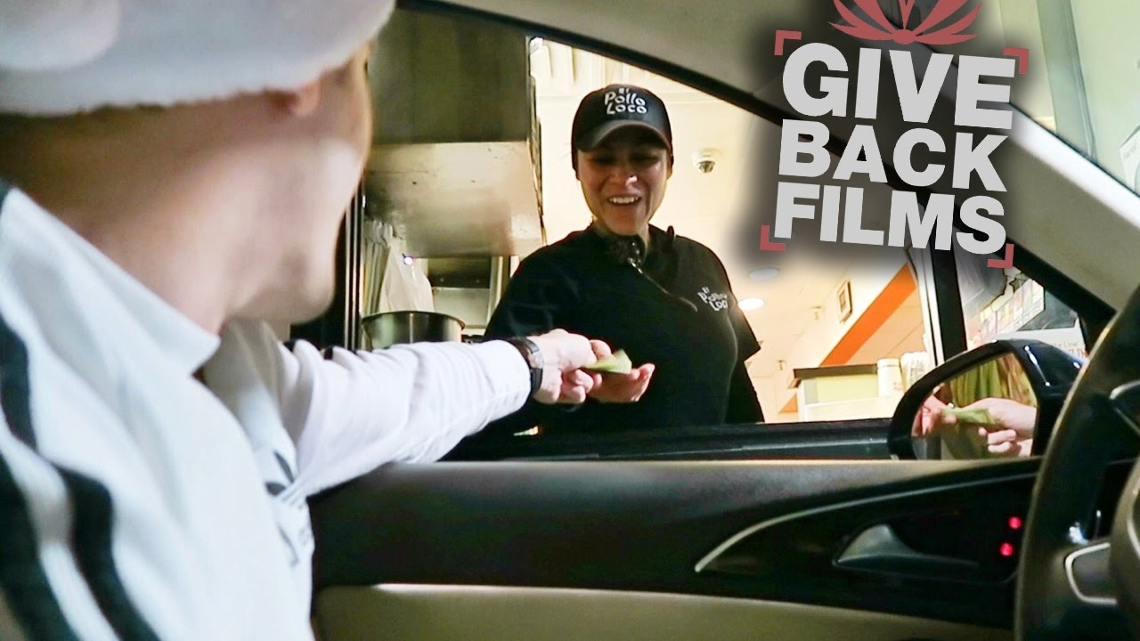 Tipping Drive-Thru Workers $100