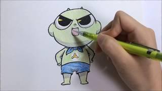 신비아파트 신비 그리기 /How to draw SHINBI