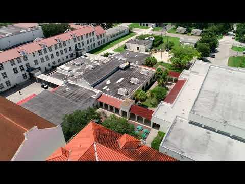 St. Petersburg High School Aerial