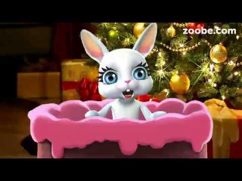 Zoobe Зайка Поздравляю с Новым Годом!!!! Успеха, радости и счастья! - Видео на ютубе