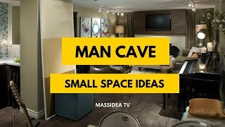 65+ Cool Small Space Man Cave Ideas for Your House