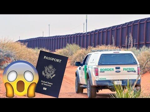 "Cruzando la Frontera SIN Documentos! ""nos detuvieron"" (HotSpanish Vlogs)"