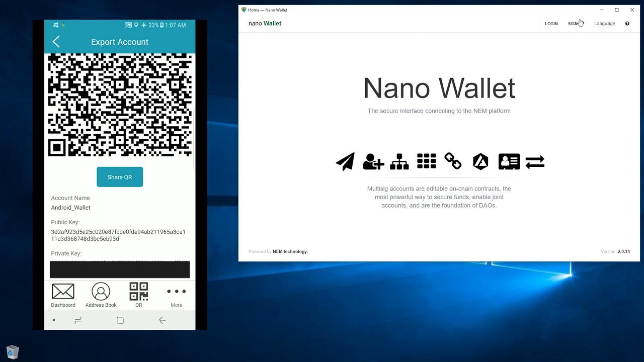 nem cryptocurrency wallet