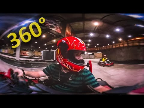 360° Алматы Картинг. Karting Almaty Panoramic Video