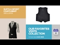 Our Favorites Vests Collection Suits & Sport Coats Best Sellers