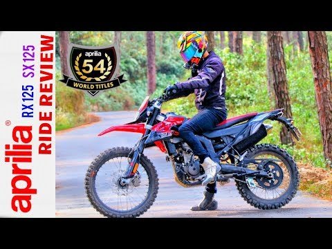 APRILIA SX125 AND RX 125 TEST RIDE  AND REVIEW NEPAL