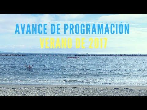 Avance de programación - Verano de 2017