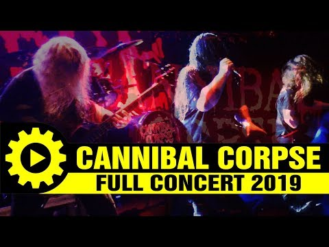 CANNIBAL CORPSE - full concert [15/6/19 @principal Thessaloniki Greece]