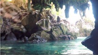 Kayaking through a Cave | Railay Beach & Tonsai Beach, Thailand