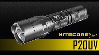 Nitecore P20UV 800 Lumens LED Flashlight w/ Built-In UV Black Light
