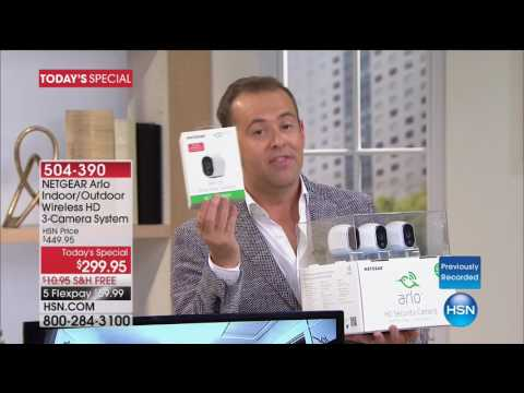 HSN | Smart Home Innovations featuring Arlo 06.18.2017 - 04 AM