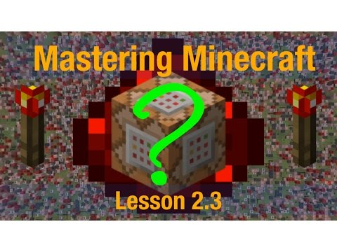 Mastering Minecraft Lesson 2.3: Data Tags