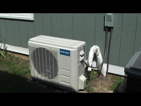 MrCool DIY 24K Mini-Split Heat Pump Air Conditioner Installation