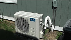 MrCool DIY 24K Mini-Split Heat Pump Air Conditioner Installation