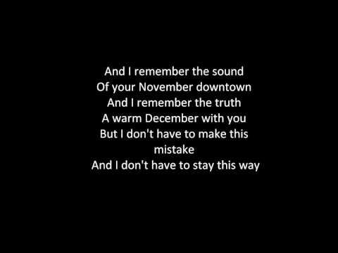 Joshua Radin Winter Lyrics
