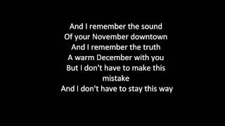 Joshua Radin Winter Lyrics